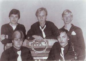 Kosketinsoittimet - CREAMERS, 1981.