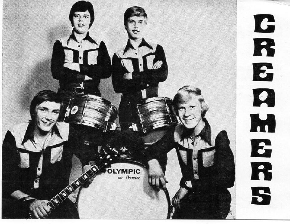 Orgel - CREAMERS, 1977. Photo Seija Ruohonen.