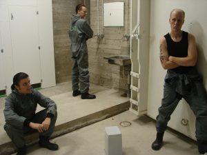 """""""DAHL"""" ja OHJAUS - Herrar. Teaterboulage 2006. Photo Jani Lastuniemi"""