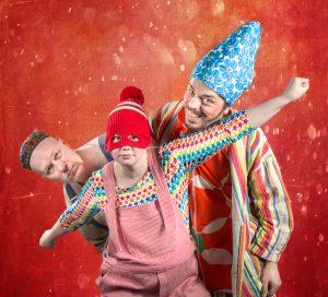 """DARTANJANG"" - Loranga, Masarin & Dartanjang. Teaterboulage 2015. Photo Henrik Zoom"